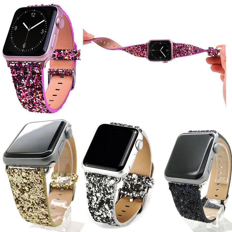 Brilho reloj Banda reemplazo para Apple Watch serie 1 38 mm / 42 mm