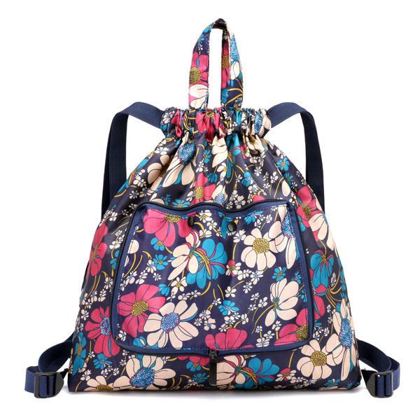 حقائب خفيفة الوزن قابلة للطي ذات سعة كبيرة حقيبة ظهر Nylon