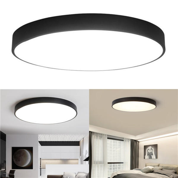 Ceiling Lights & Fans Fashion Style Led Ceiling Lights For Living Room Modern Panel Lamp Lighting Fixture Bedroom Kitchen Surface Mount Remote Control Ceiling Lamps Fine Workmanship