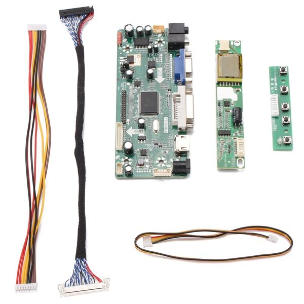 DIY LCD/LED Screen Controller Board Monitor Kit For M.NT68676.2A Input Interface HDMI+DVI+VGA+Audio Pixel 1024*768 Dot Pitch 1mm