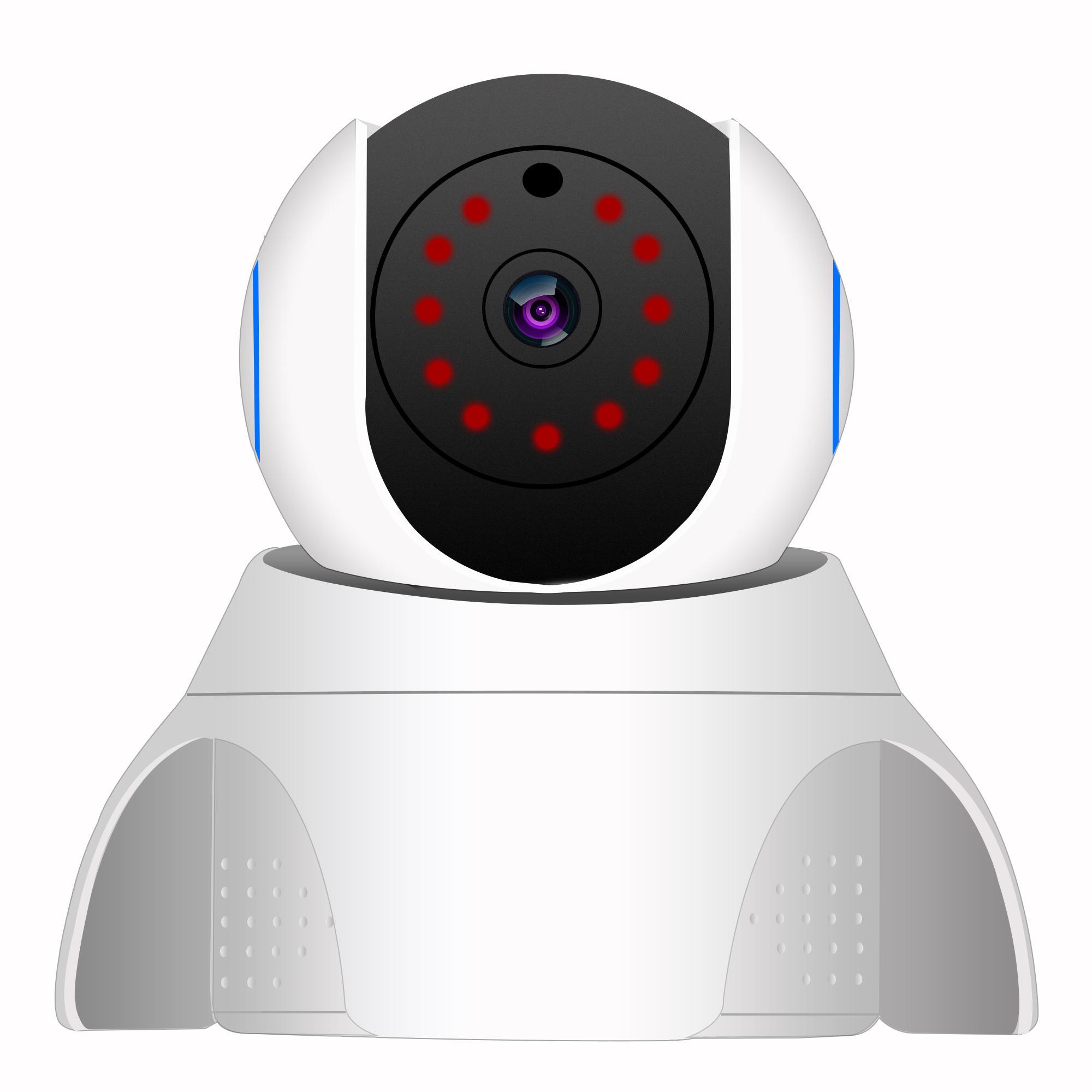 1080P Проводная / Беспроводная безопасность Wifi IP камера Система ночного видения Pan / Tilt CCTV камера