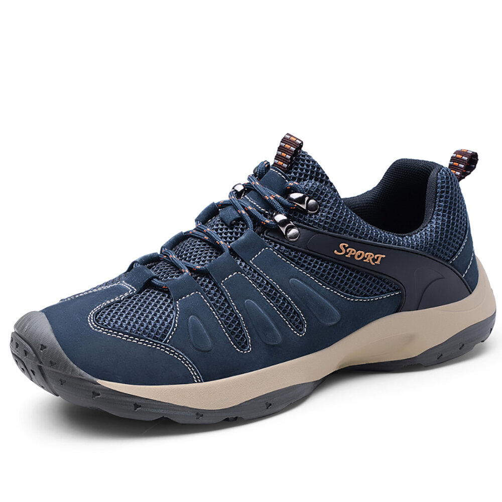 Men Casual Soft Breathable Outdoor Hiking Sports Sneakers