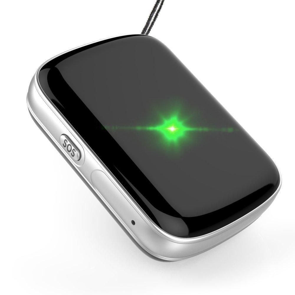 Mini portátil GPS Perseguidores Impermeable localizador global en tiempo real GSM GPRS sistema de seguridad de alarma de seguimiento anti-perdida con SOS / Voice Monitor / Charla bidireccional