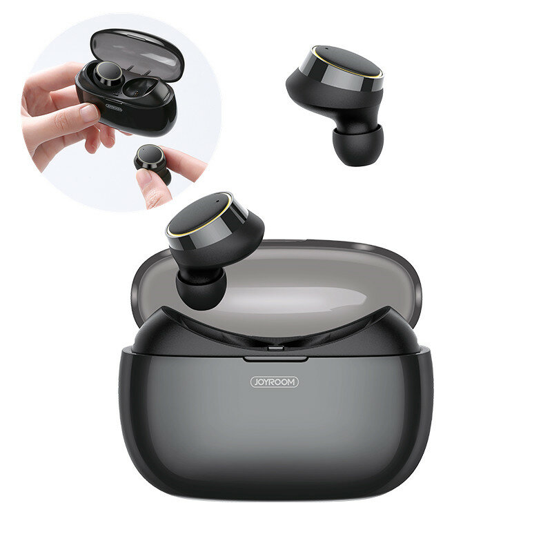 Original Joyroom T05 Mini Wireless Dual bluetooth Earphone Stereo Sound Binaural Call Waterproof Sports In-ear Earbuds for IOS Android