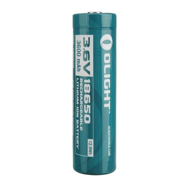 1PCS Olight 3.6v 3600mah Rechargeable Protected 18650 Lithium Battery