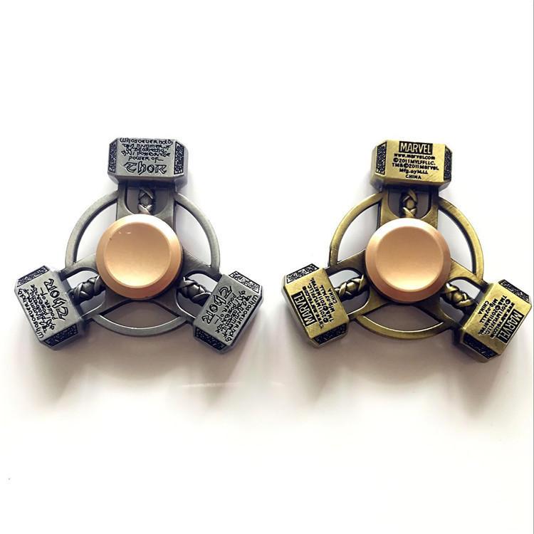 ECUBEE แฮนสปีนเนอร์ ล้อแม็ก Hammer Fidget Spinner Finger Focus ลดความเครียด Gadget