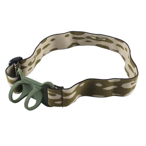 22-30ミリメートル高品質Nylon調整可能なLED懐中電灯ヘッドバンド(懐中電灯アクセサリー