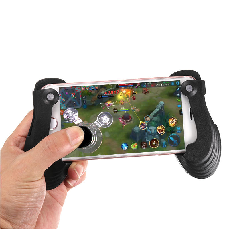 RK GIOCO 5 Fashion Gamepad Supporto per telefono cellulare per iPhone X 8 / 8Plus Samsung S8 Xiaomi mi5 mi6