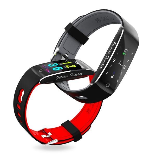 Bakeey F10 Цветной экран Кровяное давление Сердце Рейтинг Монитор Фитнес Tracker Sport Bluetooth Smartband