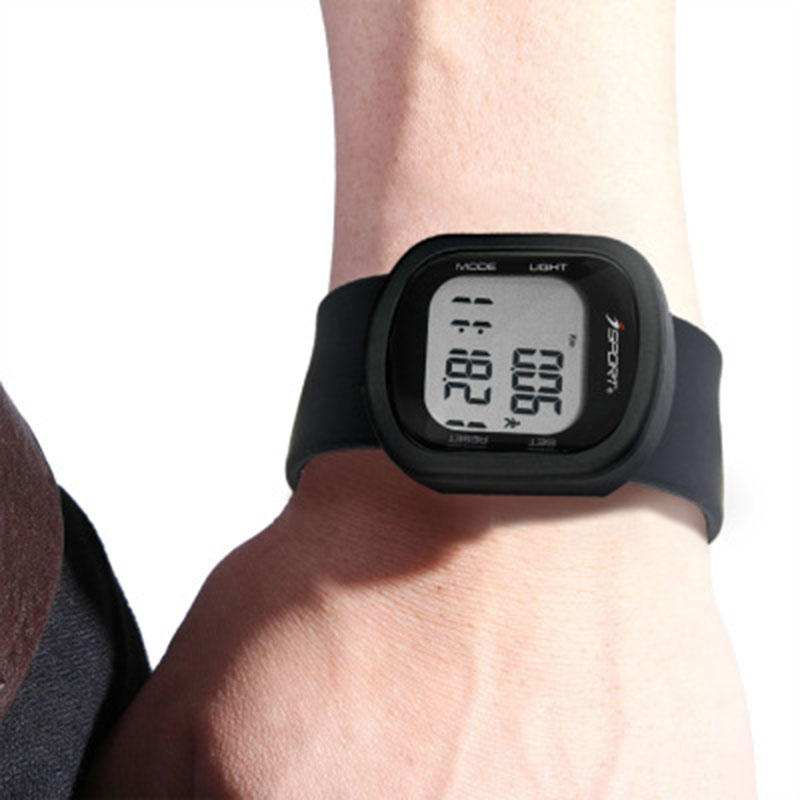 Электронный шагомер Smart Watch 3D-шагомер Браслет Силиконовый Лента спортивные часы