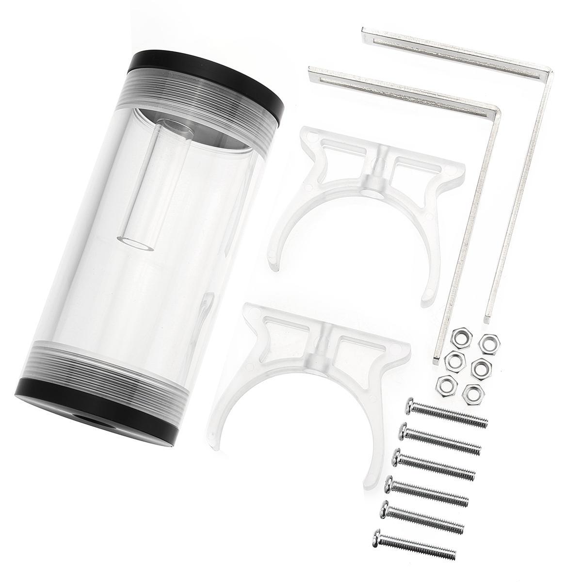 G1/4 serbatoio di raffreddamento ad acqua del serbatoio del cilindro 50mmx110mm per il raffreddamento del computer del PC