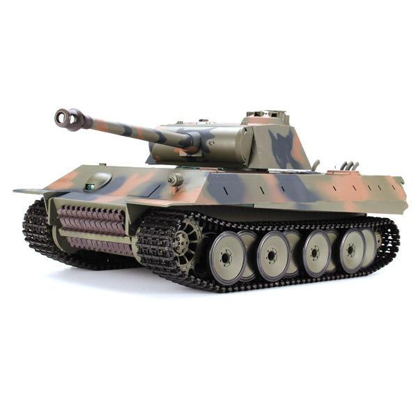 Heng Long 1/16 2.4G 3819-1 Tanque de combate del pantano leopardo de la nieve leopardo de la pantera alemana RC