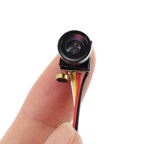 ซูเปอร์มินิ 1000TVL FOV120 องศา 1/4 CMOS 2.8 มม. เลนส์ 3.3-5V FPV กล้อง