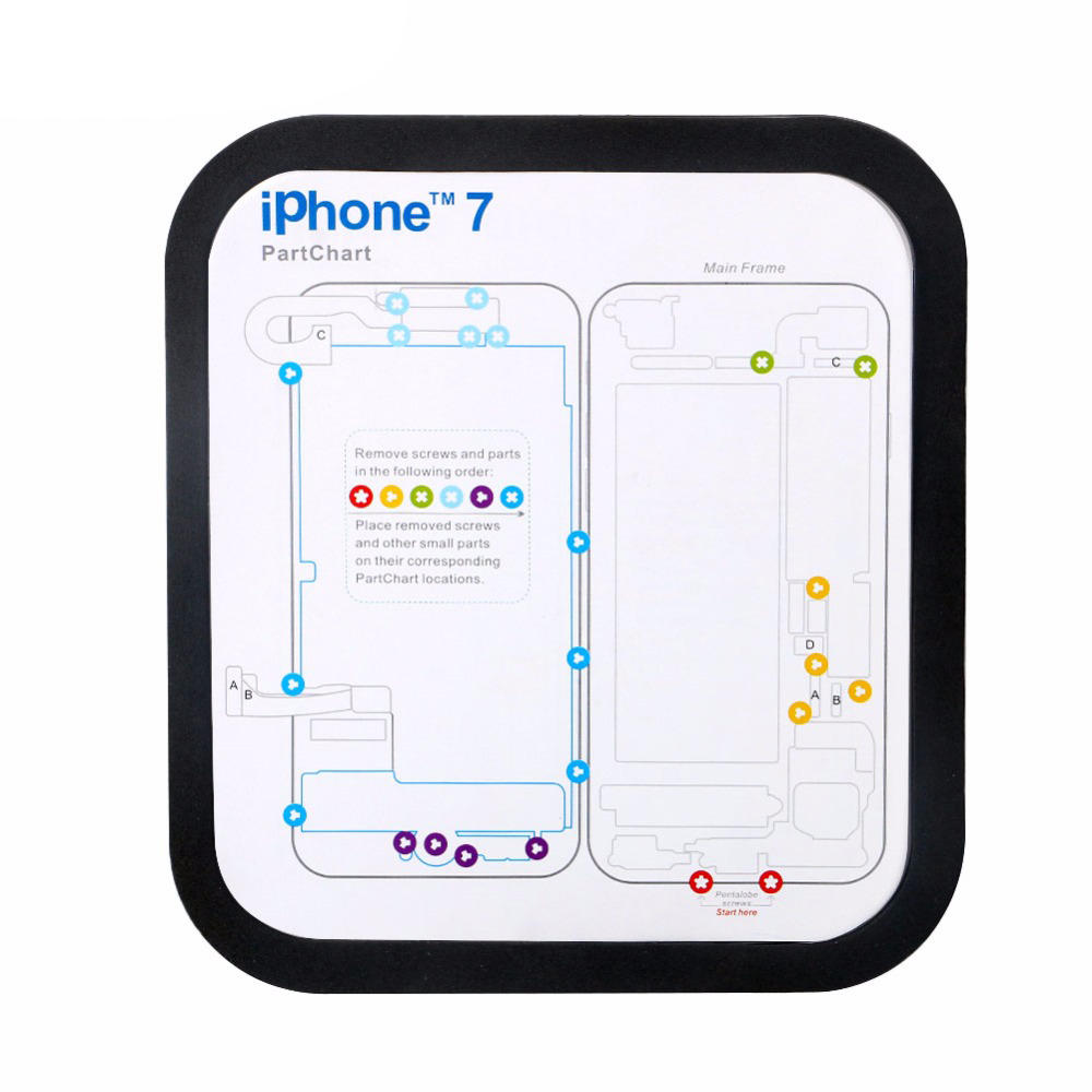 Iphone 5 Memory Diagram Wiring Libraries Oreck Xl3610hh Todaysmagnetic Screw Keeper Chart Mat For 6 6s