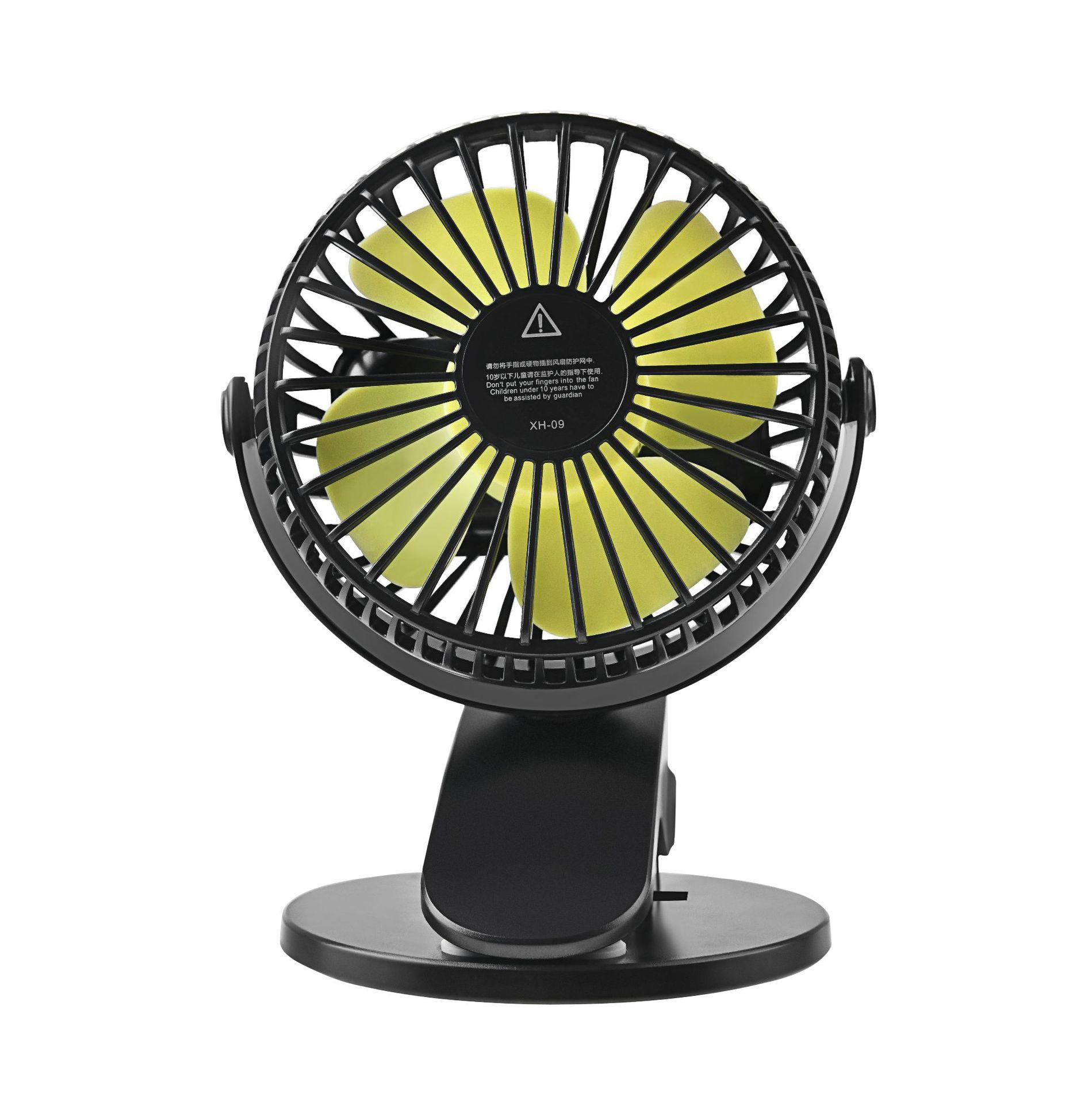 New Fashion Guitar Style Portable Fan Usb Mini Cooling Fan Air Conditioner With 1200ma Battery 3 Colors Available 3 Speed Adjust Small Air Conditioning Appliances
