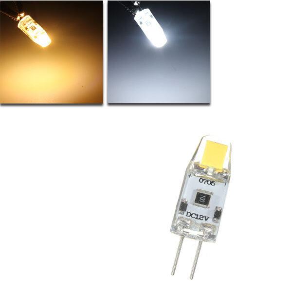 G4 1.5W หรี่แสง 0705 ซัง LED หลอดไฟแคปซูลแทนที่หลอดฮาโลเจนเพียวขาว / อบอุ่นแสงไฟ DC 12V