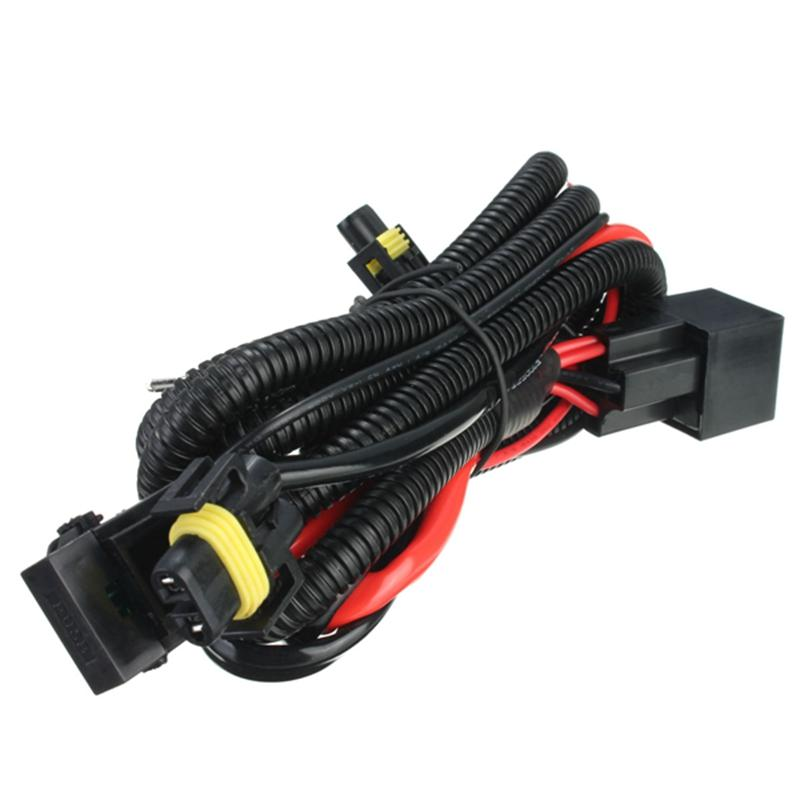 h11 880 relay wiring harness for hid conversion kit add-on fog ...