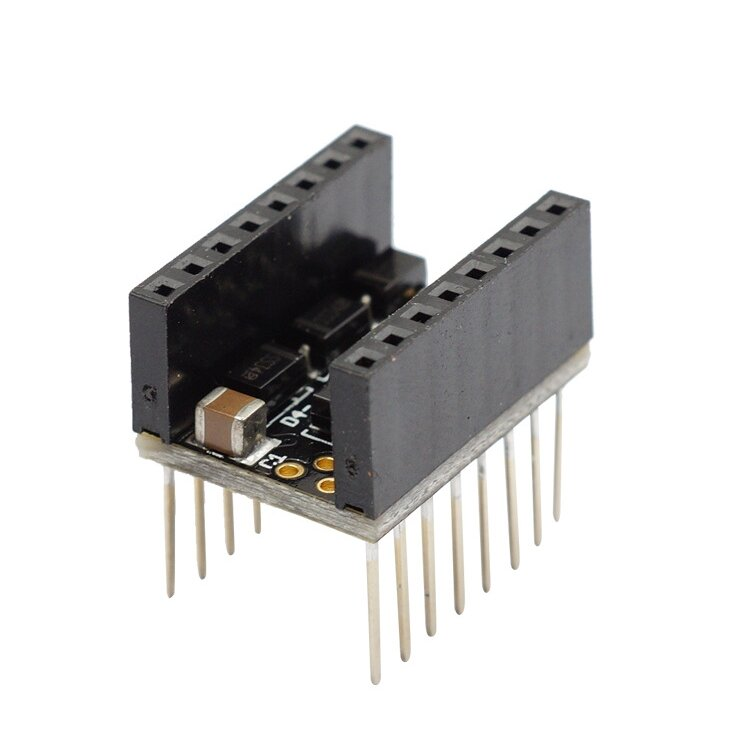 d99b03b34e4130 Ultra Silent Protector Plug Type Stepper Motor Driver Stepstick Smoother  For 3D Printer COD