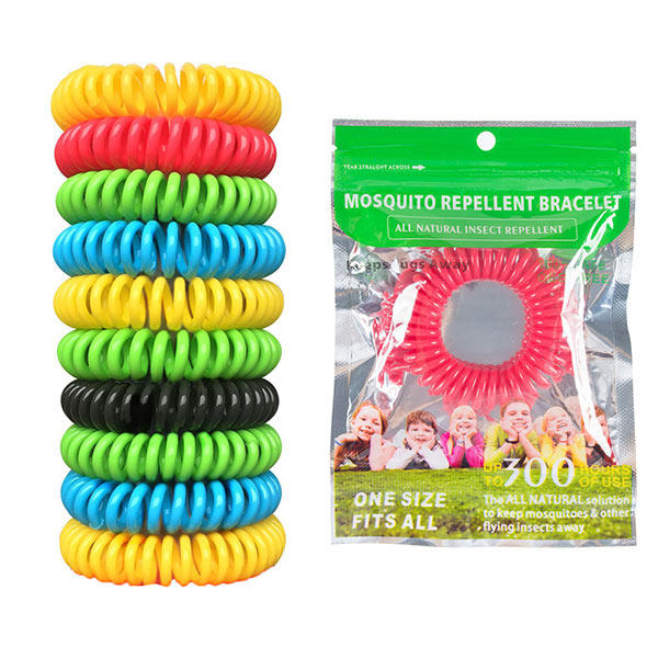 Honana Hn 015 10pcs Mosquito Repellent Bracelet Band Anti Bug Pest Insect Wrist Bands