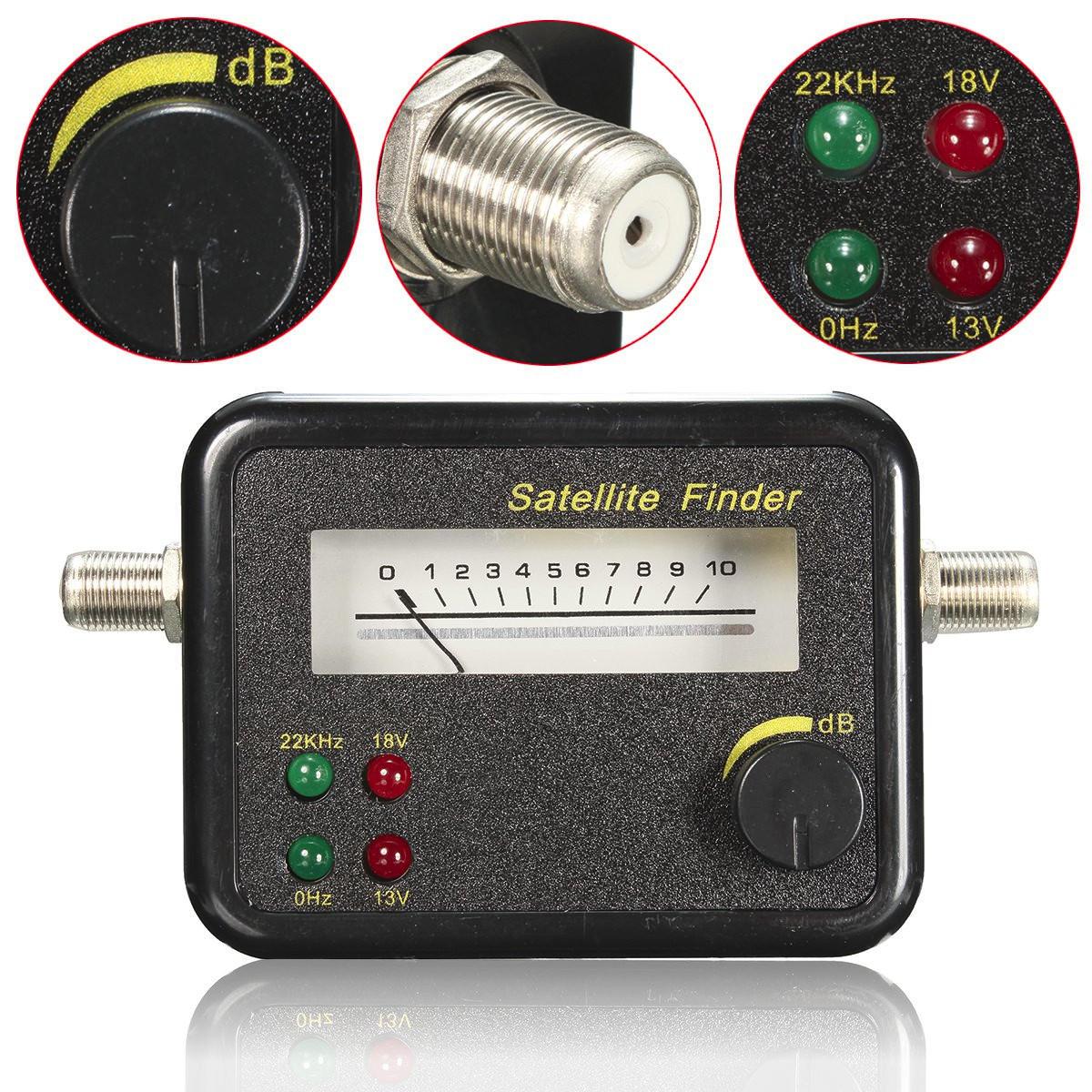 Mini Digita Pantalla LCD Visualizador de señales por satélite Buscador Meter TV Receptor 13-18V