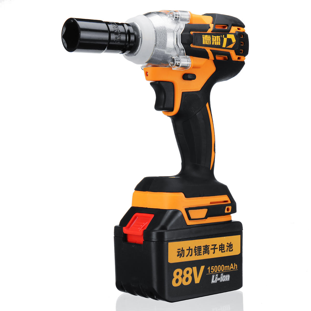 88v 15000mah Cordless Brushless Electric Impact Wrench Woodworking