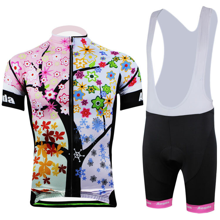 e3a773a6693 AOGDA Tree Bike Clothing Suit Bicycle Arm Warmers Short Sleeves Set for  Women COD