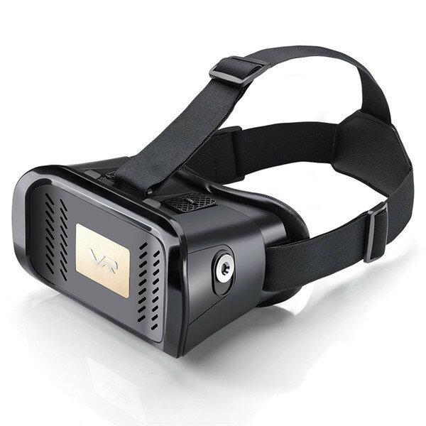 MV100 VR Virtual Reality 3D Glasses Head Mount Helmet Google Cardboard Magnet Movie Games