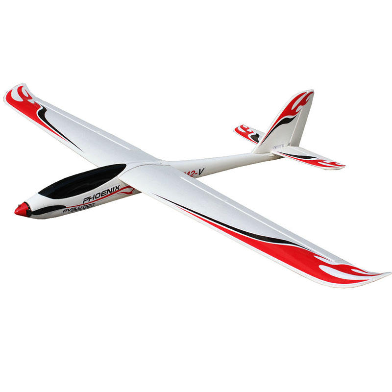 Volantex 742-5 Phoenix Evolution 1600mm 2600mm 2 en 1 RC Planeur Avion PNP