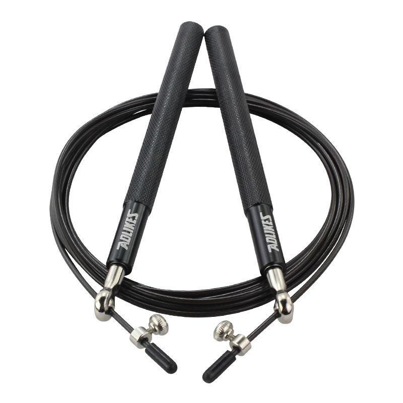 KALOAD 3 m cordes à sauter réglable simple saut corde Fitnesss sport vitesse corde saut exercice d'entraînement outil avec sac de rangement