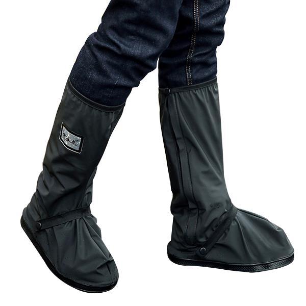 91aa3b8b02c Moto impermeável Chuva sapatos CAPAS Mais grossas scootor antiderrapantes  botas CAPAS
