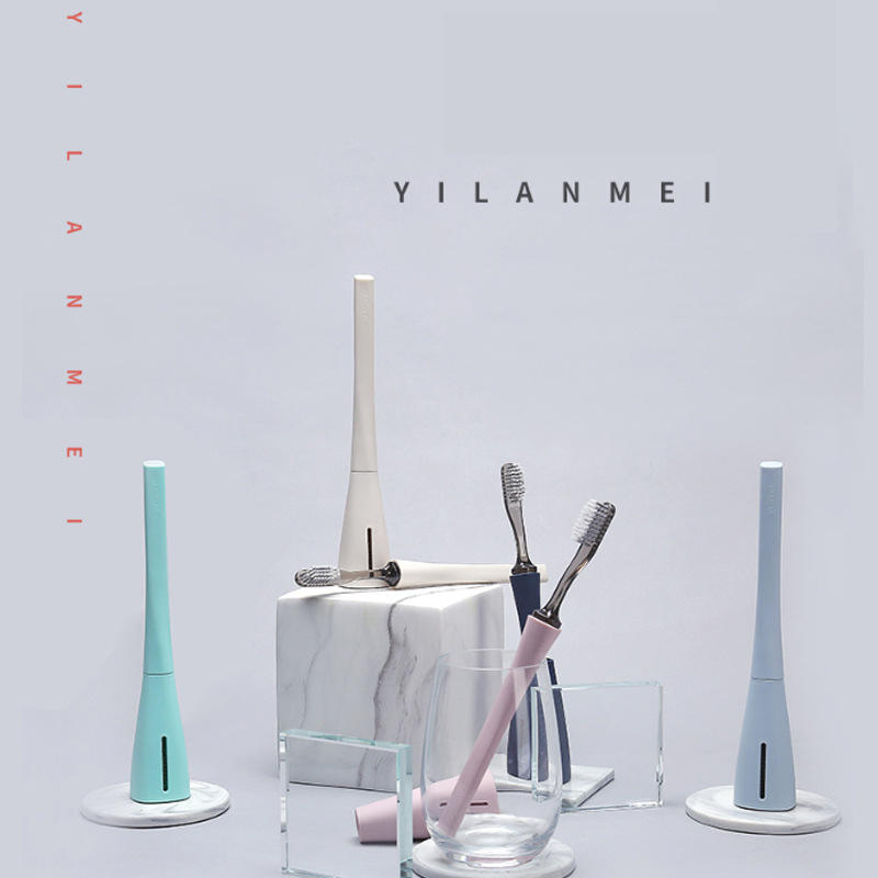 YILANMEI Portable Detachable Head Anti Bacterial High Temperature Resistance Teeth Brush Toothbrush Whitening Brushes