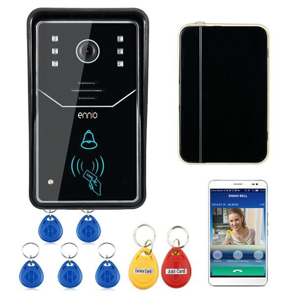 Ennio Ennio Touch Key Wifi Doorbell Wireless Video Door Phone Home