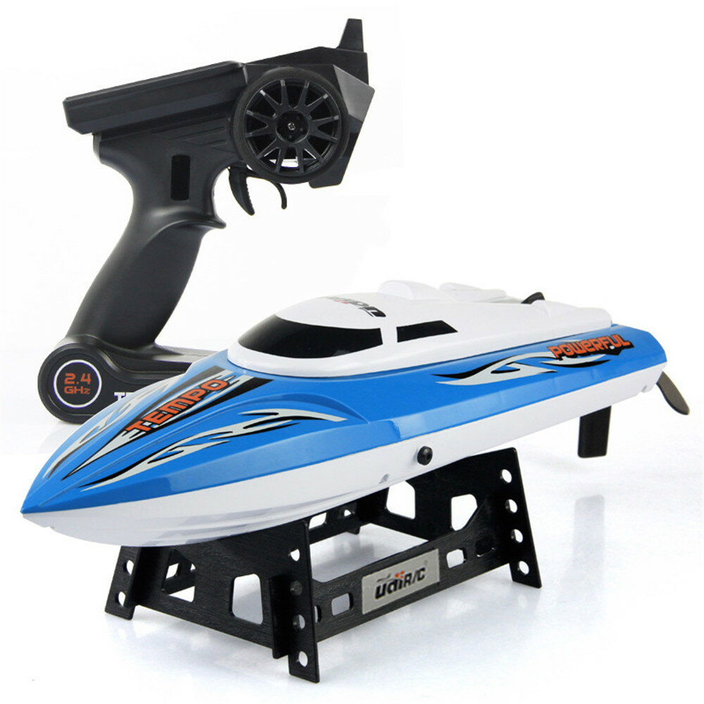 UdiR/C UDI902 43cm 2.4G Rc Boat 25km/h Max Speed With Water Cooling System 150m Remote Distance Toy