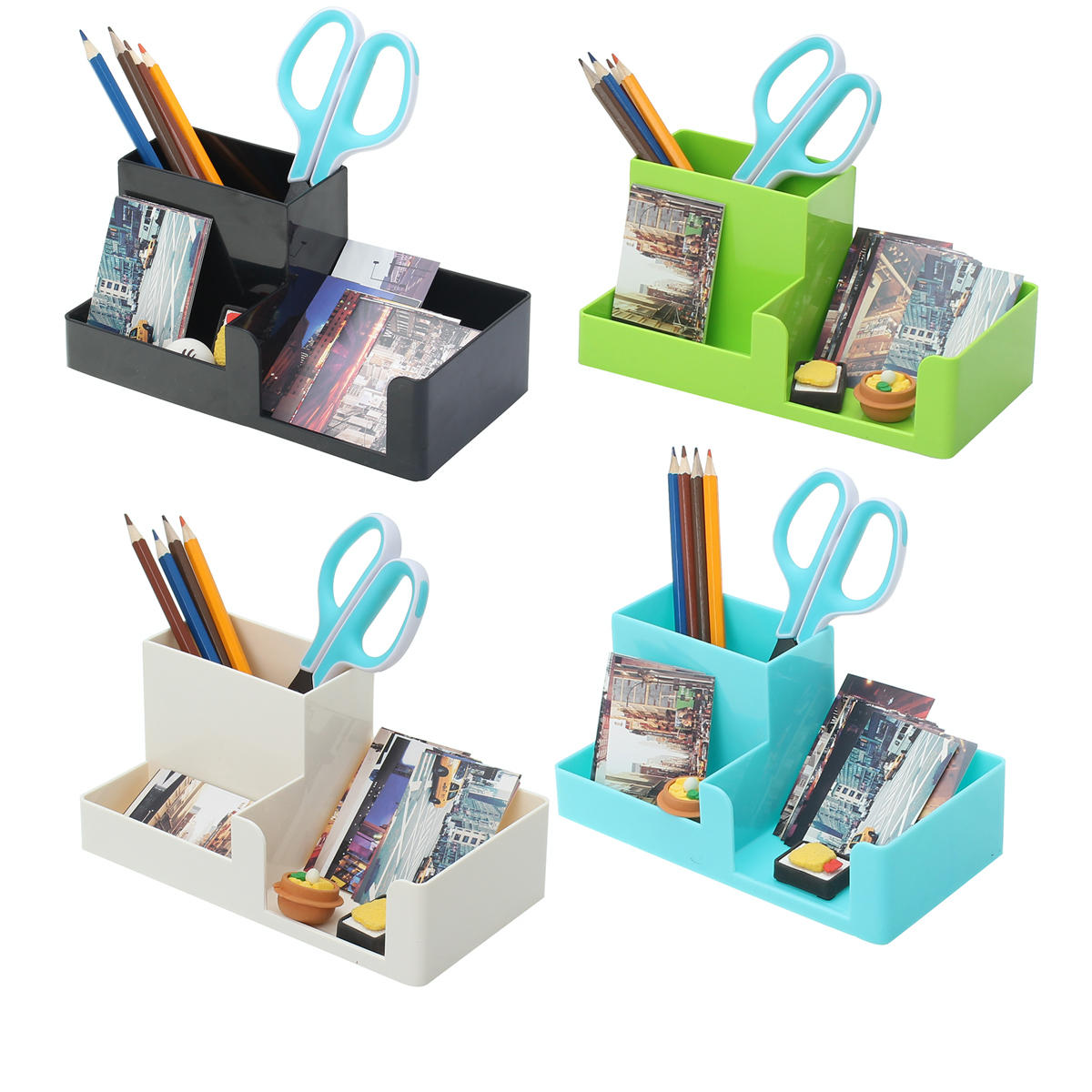Independent Desk Mesh Pen Pencil Holder Office Supplies Multifunctional Digital Led Pens Storage Desk Accessories & Organizer Pen Holders