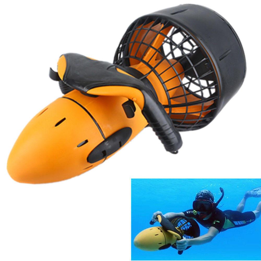 Imperméable à l'eau 300W électrique sous-marin scooter de mer à double vitesse hélice drague piscine Rc sous-marin jouet