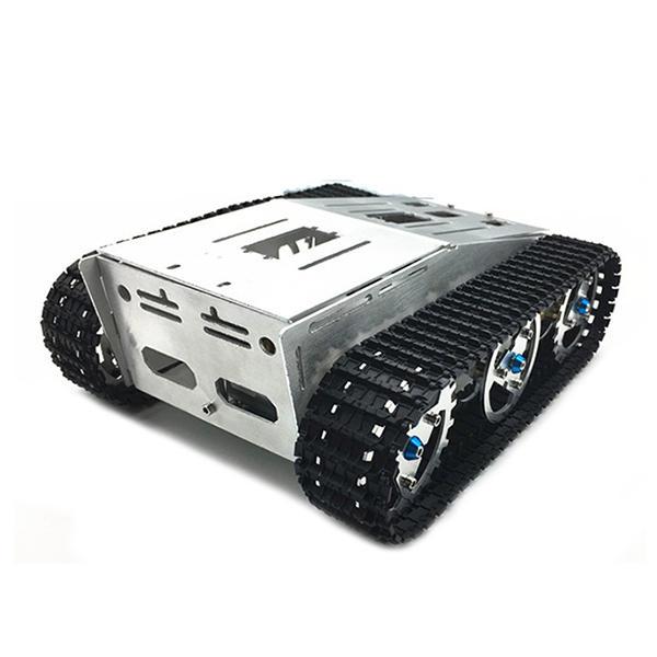 DIY Selbst zusammengebautes RC Roboter-Behälter-Auto-Chassis mit Kriecher Satz