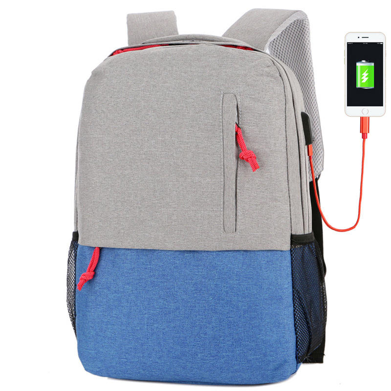 0f8f59cad540 Outdoor Camping Nylon 25L USB Charging Backpack Waterproof Large Big  Capacity Laptop Bag COD