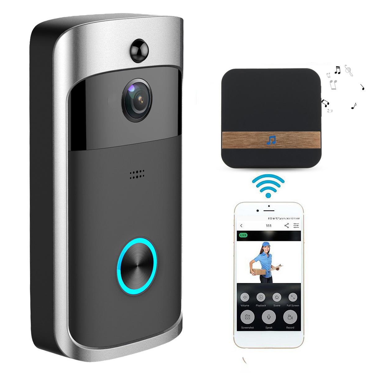Беспроводная связь камера Видео домофон Безопасность дома Смартфон Дистанционный Видеозащита