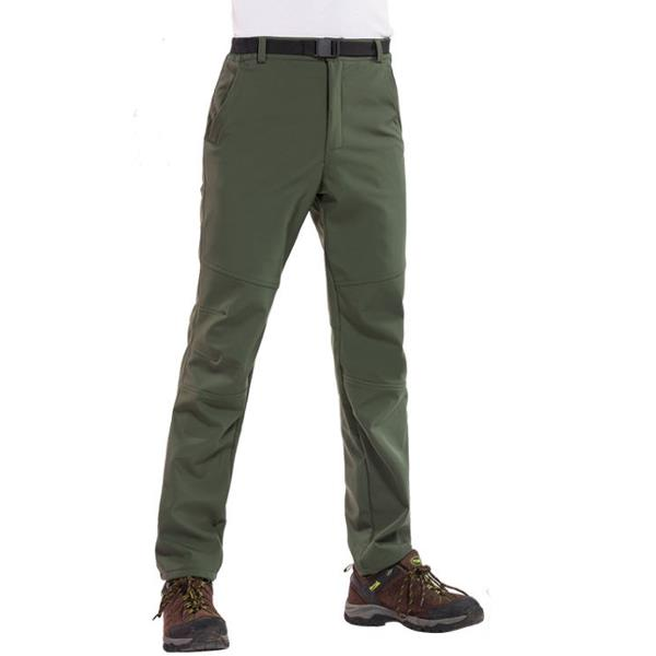 6d5f01b12a Mens Thick Warm Pants Outdoor Climbing Hiking Waterproof Quick Drying  Trousers COD