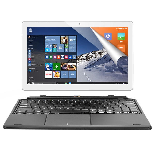 Original Box ALLDOCUBE iWork10 Pro 64GB Intel X5 Atom Z8350 10.1 Inch Dual OS Tablet With Keyboard