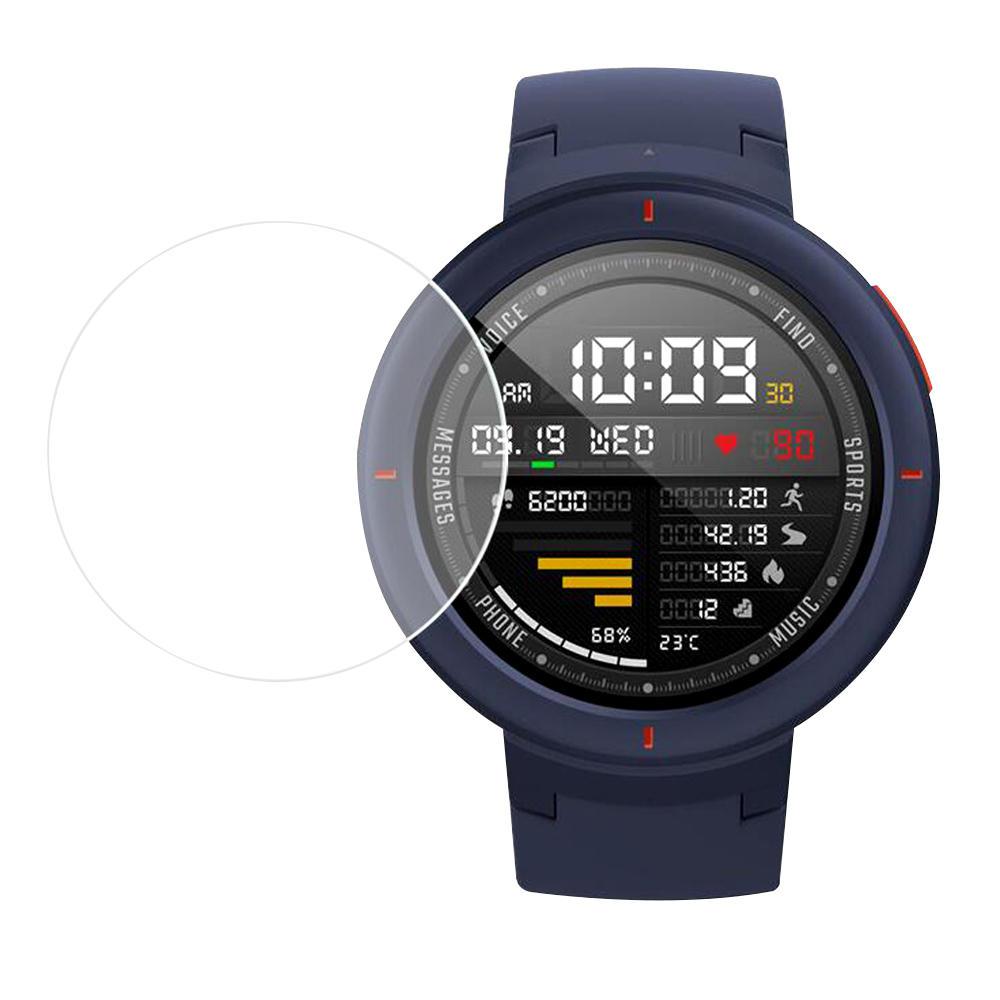 Bakeey 2Pcs Soft Nano Protecteur d'écran de montre anti-déflagrant pour Xiaomi Amazfit Verge Montre intelligente