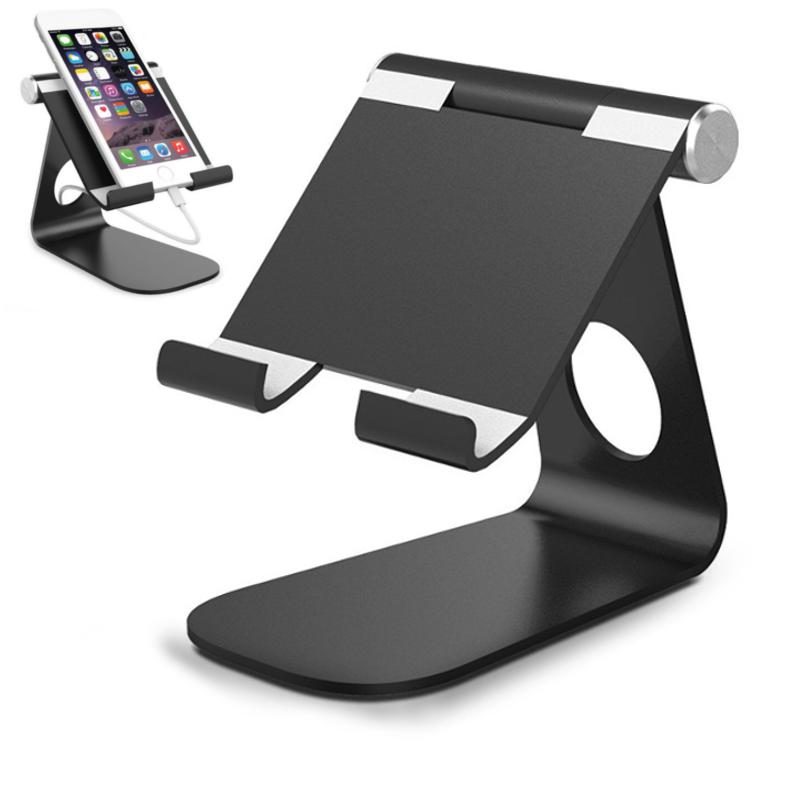 b57bcb8ddd4 Universal Aluminum Alloy Anti-Slip Portable Support Tablet Stand Holder for  iPad Air Mini iPhone