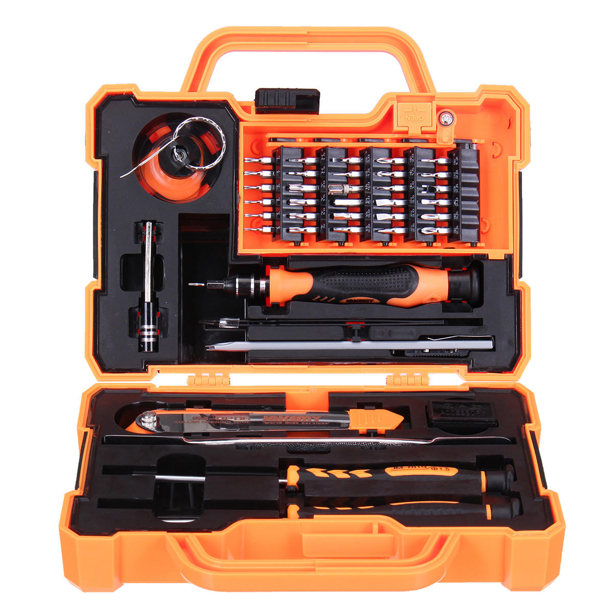 Jakemy Precision Screwdriver Unboxing Interframe Media Obeng Set Jm 8101 33 In 1 Repair Tool Kit Ipad 8139 45 Professional Electronic Household