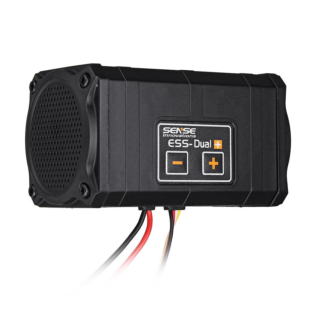 Sense Innovations ESS-DUAL 2 ALTAVOCES Simulador de Sonido del Motor Para Axial SCX 10 II WRAITH Traxxas TRX4