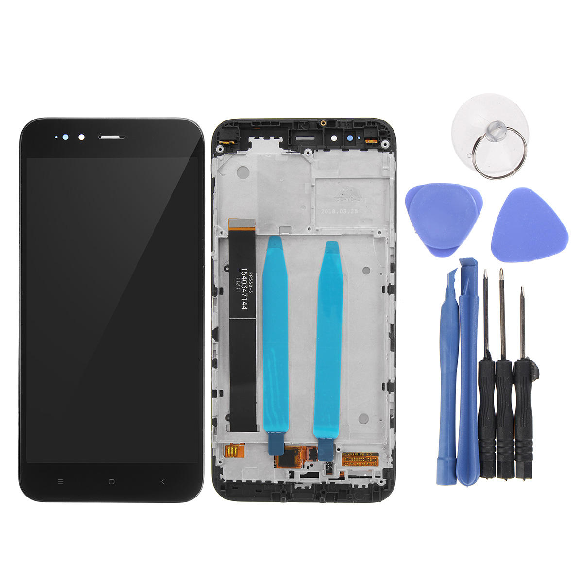 LCD Display + Touch Screen Digitizer Replacement With Frame+Tools For Xiaomi Mi 5X / Mi A1