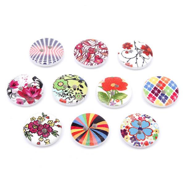 100pcs botón de la ropa del bebé bolso decoración de costura de ...