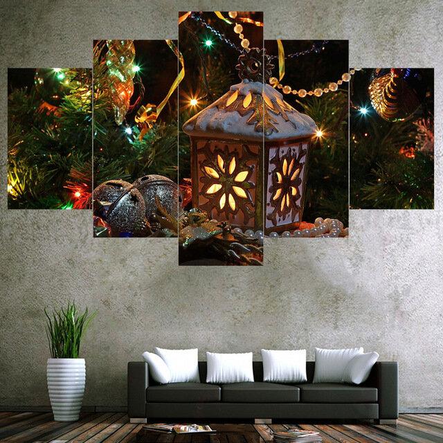 5 캐스케이드 벽 조합 그림 그림 설치 홈 포함 프레임없이 설치