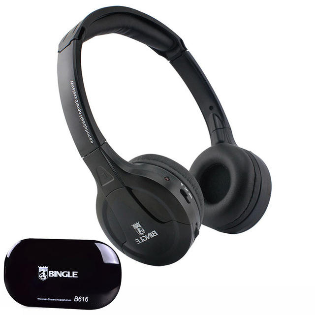 bingle b616 wireless bluetooth stereo headset headphones with microphone fm  radio Sale - Banggood.com sold out 937268a9589f1