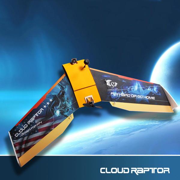 Cloud Raptor 1000mm vol aile EPP FPV Racing RC avion (Extra 20% de réduction Code: 20pl)