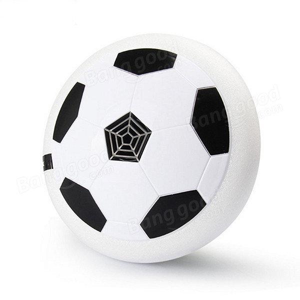 Elektrische Drijvende Voetbal Universele Kleurrijke Lichten Luchtkussen Binnen Buitensporig Voetbal